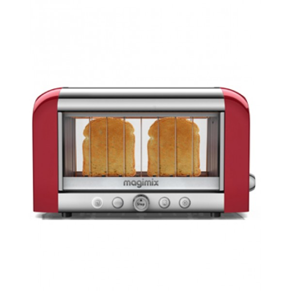 Magimix Vision Toaster 2 Slice Red