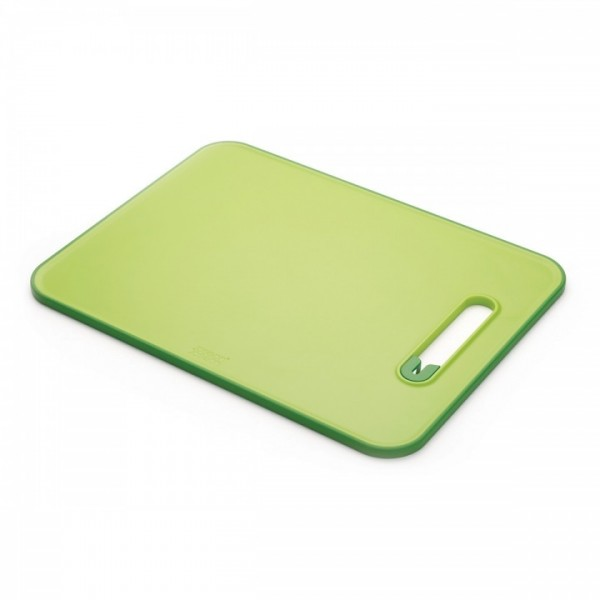 Joseph Joseph Slice & Sharpen Chopping Board Large - Green