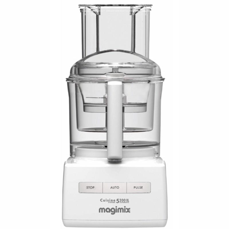 Magimix food processor 5200xl white for Cuisine 5200 magimix