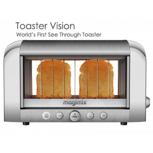 Magimix Vision  Toaster 2 Slice Silver